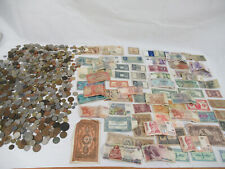 More details for job lot of domestic and foreign coins and notes 5.5kg (c1344)