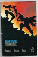 Batman The Dark Knight Returns #4 The Dark Knight Falls FN (1986) DC Comics