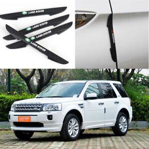 For Land Rover Freelander 2 Car Side Door Edge Guard Bumper Trim Protector 4pcs