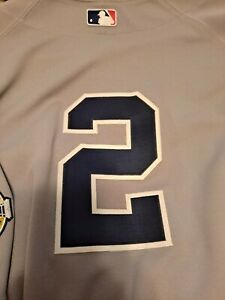 Derek Jeter New York Yankees Majestic Road Jersey Authentic Size 60 NWT