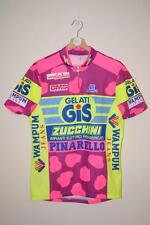 RETRO GIS GELATI ZUCCHINI PINARELLO TEAM CYCLING JERSEY MENS