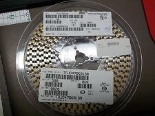 QTY (500) 47uf 16V 10%  TANTALUM CAPACITORS AVX TAJD476K016R