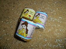 GLOSSY DISNEY PRINCESS BELLE HERSHEY NUGGET WRAPPERS BIRTHDAY PARTY FAVORS
