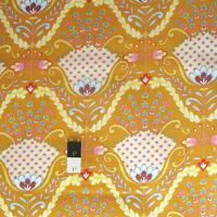 Dena Designs F006 Sunshine Stripe Pink Linen Fabric By Yard