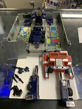 Transformers G1 Optimus Prime Parts Lot! Takara Hasbro