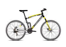 Bicycle MTB Full Suv99 26 Alu 3x7s DISC Size 48 Black Yellow Torpado