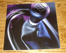 Original 2001 Honda Civic Coupe Deluxe Sales Brochure 01