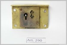 Portagioie 8 pz protezioni angolari 4 pz Antico Decorazione Piedi in Metallo Gambe Serratura antica in rilievo per Scatole di Legno con viti 4 pz Bronzo Antico Cerniere