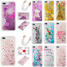 Liquid Glitter Dynamic Quicksand Patterned Soft Rubber Silicone Phone Case Cover
