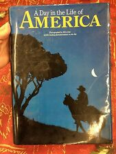 """A Day in the Life of America"" 1986  HC/DJ  Collins Publishers"