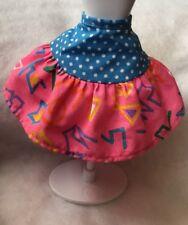 Barbie Fashion California Dream Barbie Doll Blue Polkadot Neon Trim  Skirt