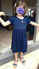 Monsoon Superbe robe boule bleu marine - Etat neuf – très peu portée