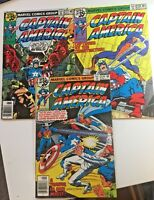 Captain America Comic Book Issue Lot # 227 228 229 Marvel 1978 35 cents