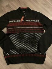 Ministry Of fashion sweater quarter zip L