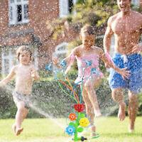 Water Sprinkler Water Toys Splash Flower Spray Toy for Fun Summer Lawn Backyard