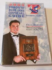 Toronto Blue Jays Official Media Guide Book 2003 (SC) Baseball MLB