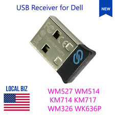 Universal Pairing USB Receiver for Dell WM527 WM514 KM714 KM717 WM326 WK636P