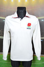 ENGLAND HOME RUGBY HERITAGE FOOTBALL SHIRT (S) JERSEY TOP TRIKOT MAILLOT WHITE