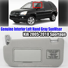 Kia Sportage 05-07 OEM GENUINE Front Inside Right Sun Visor Gray 852011F210LX