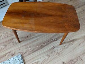 Retro / vintage coffee table, mid century, tapered legs