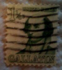 1967 U. S. Scott 1279 Albert Gallatin one used cancelled 1 1/4 cent stamp