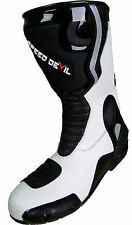 Race motorcycle boot waterproof leather sandal 41 knuckle protection