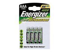 4 AAA Energizer 700mah Rechargeable ACCU Batteries 7638900268324 FREEPOST
