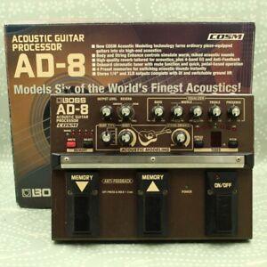 BOSS AD-8 Acoustic Guitar Processor With Original Box COSM Guitar effect pedal