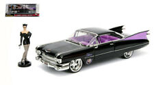 DC Bombshells Catwoman With 1959 Cadillac Coupe Deville Black 1:24 Model