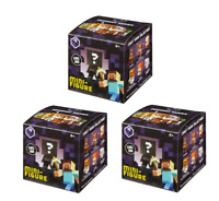Minecraft Obsidian Series 4 Mystery Pack (Bundle of 3 Packs) NEW