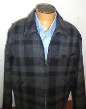 Filson 100% Wool Mackinaw Work Jacket NWT XXL $395 Gray & Black made in USA