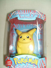 Pokemon Pikachu Limited Edition Coin Bank Series #25 Official Nintendo Licenced