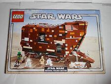 LEGO  INSTRUCTION BOOK # 10144 Star Wars Original Trilogy Edition Sandcrawler