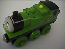 Thomas and Friends Wooden Railway Retired Rare (Oliver with gREEN wheels) New