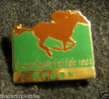 ORANGE COUNTY FAIR PRESS PIN 1984, (ORANGE COUNTY CALIFORNIA)