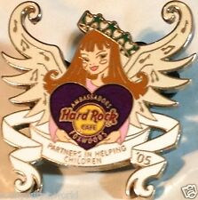 Hard Rock Cafe FOXWOODS 2005 Waterford Country School ANGEL GIRL PIN HRC #30762