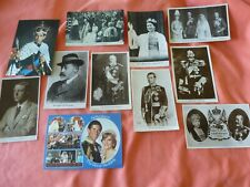 11 ROYALTY THEMED POSTCARDS