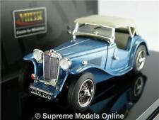 MGTC MODEL CAR 1:43 SCALE VITESSE CLIPPER BLUE 29161 MG TC SPORTS K8Q