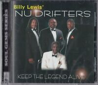 """CD - BILLY LEWIS ´- NU DRIFTERS - KEEP THE LEGEND ALIVE  """" NEU in OVP #R40#"""