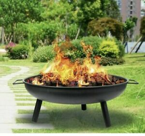 🔥Iron Fire Bowl Fire pit - Garden Patio Fire Heater - UK ✅FREE POSTAGE✅