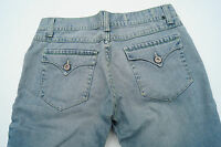 PIONEER Damen Jeans Hose Bootcut Gr.36 L stone wash hellblau TOP #i