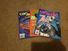 1992 -1993 Vintage  Car Audio and Electronics Magazine  3 lot