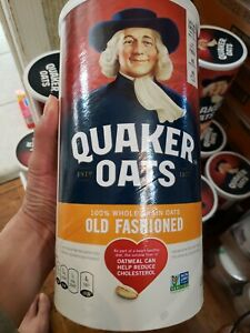 🥰🥰Quaker Oats 100% Whole Grain Oats(in stock daily)(OLD FASHIONED)2 lb.10 oz.