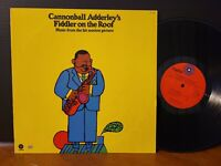 Cannonball Adderley Fiddler On The Roof Charles Lloyd Joe Zawinyl Louis Hayes LP