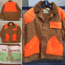 Vintage Hunting Jacket Hunter Coat The Hunter Water Repellent Sz 44