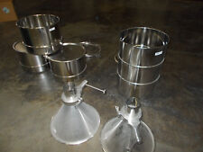 Muller Stainless Steel Drums and Dispensing Hoppers Lot