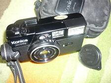 Vintage Konica C35 EF3 f1:2.8 35mm Hexanon lens rangefinder film camera hoya