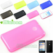COVER CUSTODIA CASE MORBIDA IN SILICONE GEL TRASPARENTE PER HUAWEI ASCEND Y330 P