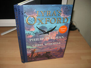 Philip Pullman double signed Lyra's Oxford 1st illustrated HB His Dark Materials