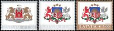 1249 - Latvia - 2015 - Definitives - Coat of Arms - 3v - MNH - Lemberg-Zp